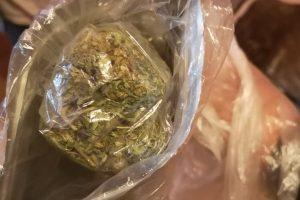 Част от иззетия наркотик