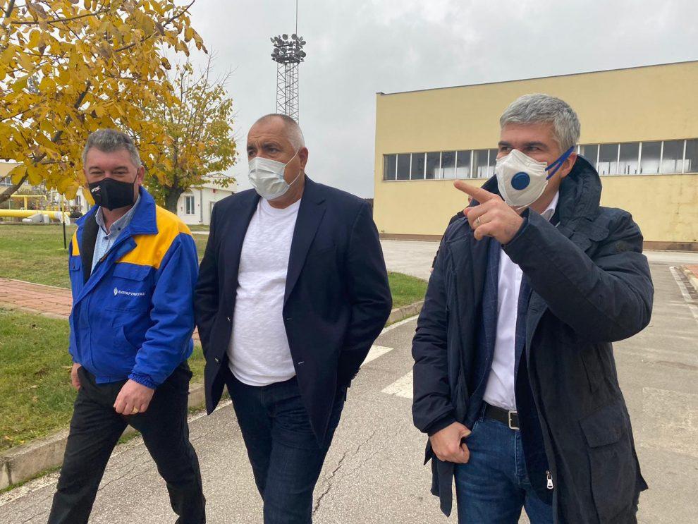 "Борисов посети газохранилището ""Чирен"""