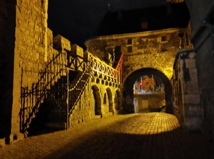 Понттор, средновековната градска порта на Аахен