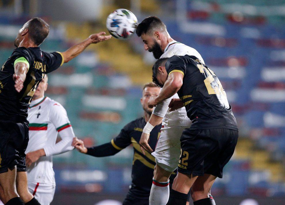 Първа за годината победа на националите по футбол, макар и над Гибралтар.