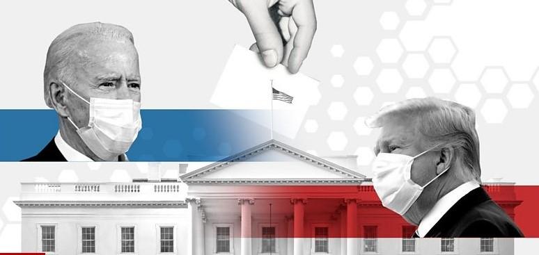 Байдън срещу Тръмп Колаж: ВВС