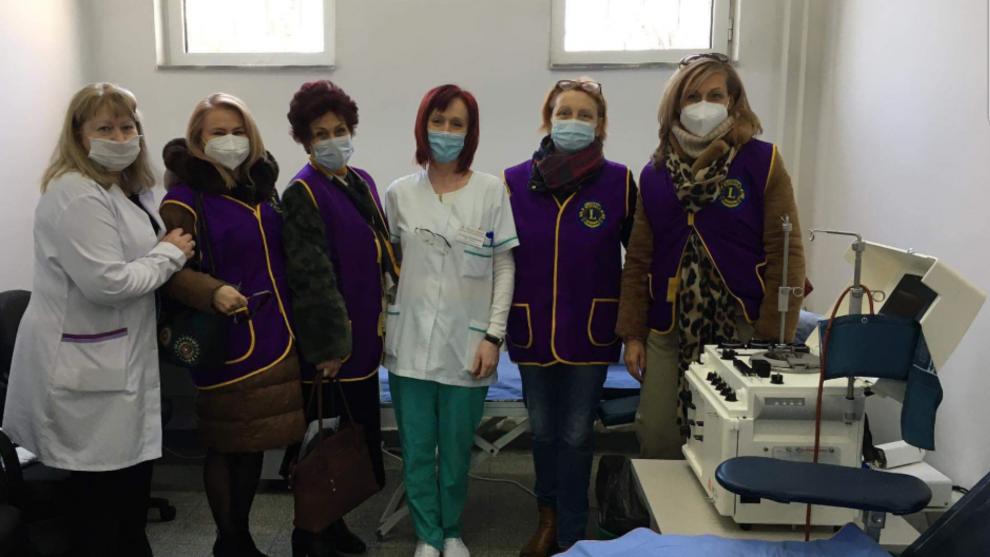 """Дамите от Лайънс клуб """"Евридика""""- Пловдив"""