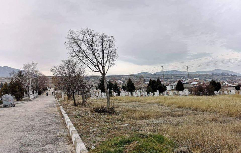 Гробищата в Асеновград