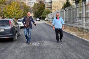 Костадин Димитров инспектира улицата