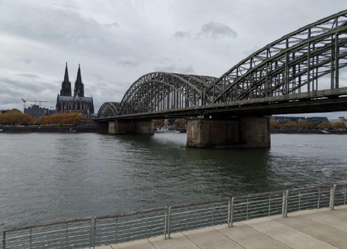 Може би най-популярният изглед към Кьолн