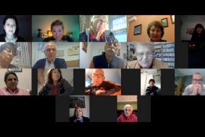 Участниците в първия On-Line семинар