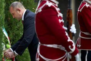 Президентът отдаде почит на български воини.