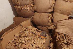 Полицията откри нелегален цех за тютюн на Рогошко шосе.