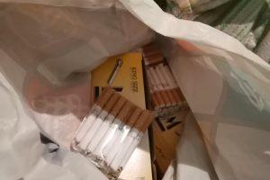 Част от иззетите цигари