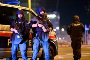 Виена на крак, гъмжи от полиция