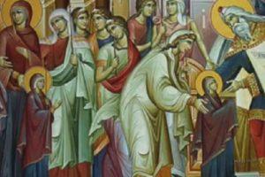 Православната църква чества Въведение Богородично.