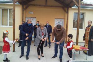 Откриването на новата ясла в Ягодово.