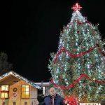 Коледната елха в Сопот