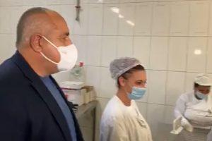 Борисов отново на инспекция, този път в завод за хляб.