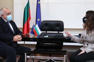 Срещата на Бойко Борисов с Херо Мустафа