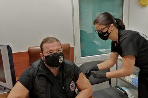 Ваксинирането на д-р Невен Енчев