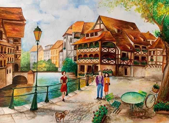 Последната картина на Мартина - Страсбург, Франция