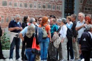 Туристи в Пловдив