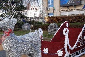 Коледната украса в Асеновград