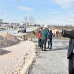 Здравко Димитров на инспекция на Асеновградско шосе