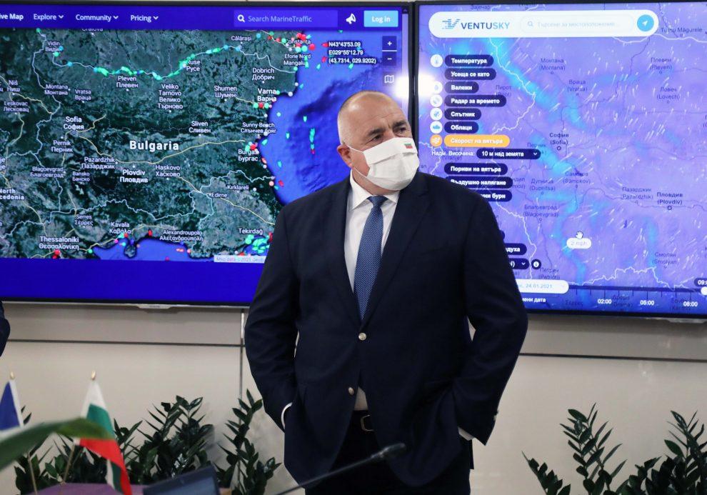 Борисов в МОСВ.