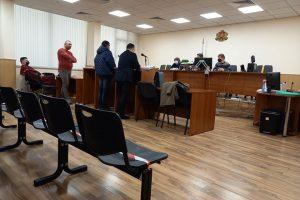 Димитър Иванов в съдебната зала.