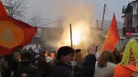 Кадри от карнавала във Вевчани
