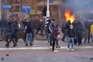 Заради наложените мерки в Нидерландия се стигна до протести и сблъсъци