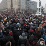 Многохилядни бяха протестите в Русия.