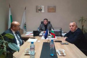 Владимир Маринов се срещна с Ахмед Аладин