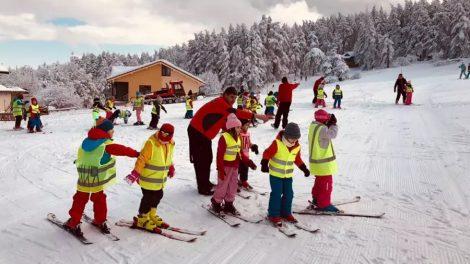На Копривките има и инструктори за деца и начинаещи.