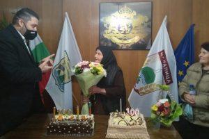 Павел Михайлов поздрави столетничката Милка Байрева