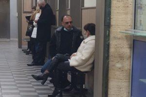 Стоян Канара чака в съда да чуе присъдата си. Кадър: Трафик нюз