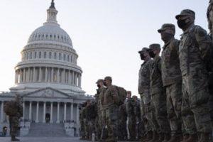 Десетки хиляди гвардейци са във Вашингтон в момент, в който страната още е под знака на нападението на сградата на Конгреса