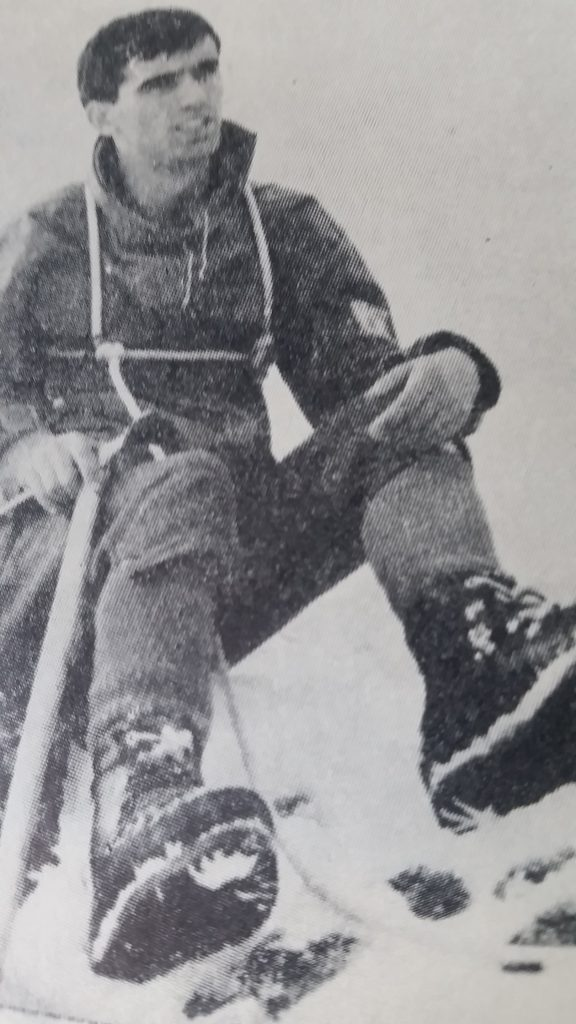 Христо Проданов още като ученик