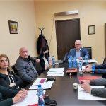 Първото заседание на Управителния съвет