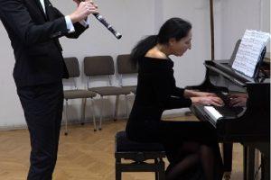 Доц. д-р Красимира Филева и младият кавалджия Дамян Йорданов