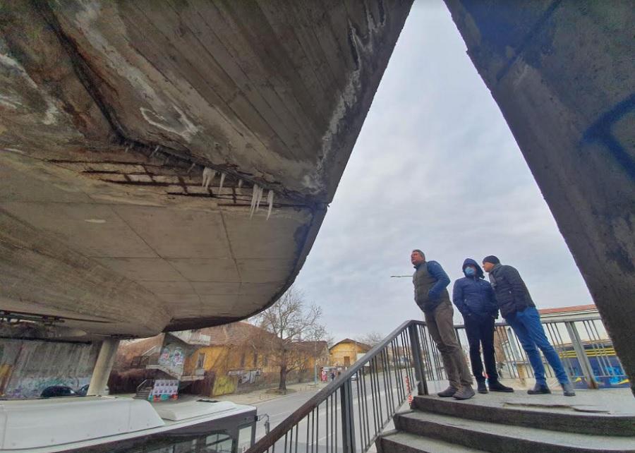 Бетонният мост в Пловдив