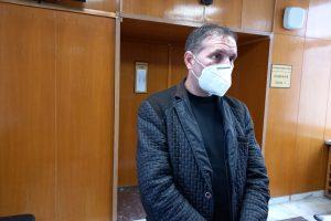Георги Георгиев е видимо отслабнал.