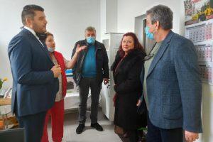 Павел Михайлов и Манол Генов откриха медицинския кабинет в Кадиево