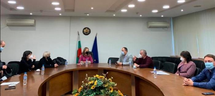 Заседание на Медицинския щаб при областния управител