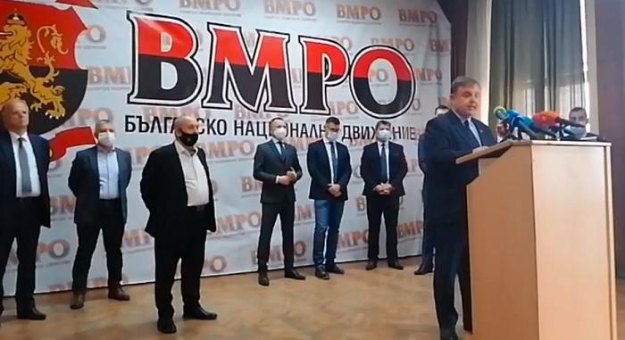 Красимир Каракачанов представи кандидатите за депутати от гражданската квота