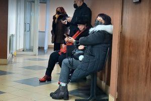 Данъчната Ренета Иванова в съда. Кадър: ПловдивПрес