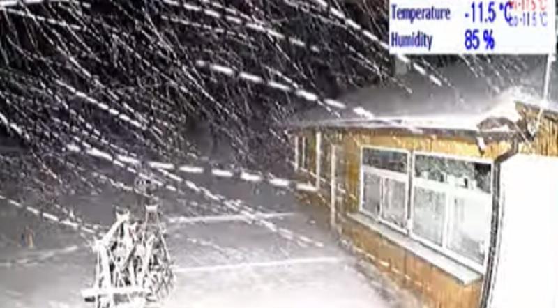 Копривките - обилен сняг и минус 11,5 градуса