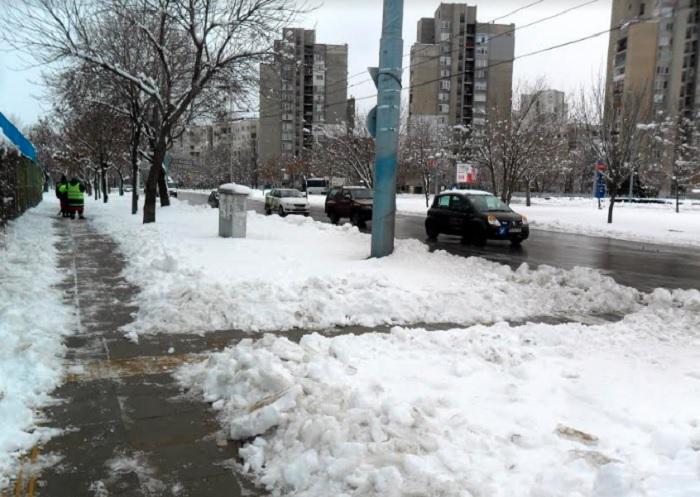Много е студено тази сутрин в Пловдив.