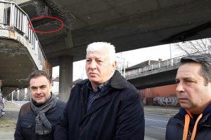 Зико и замовете му огледаха Бетонния мост.