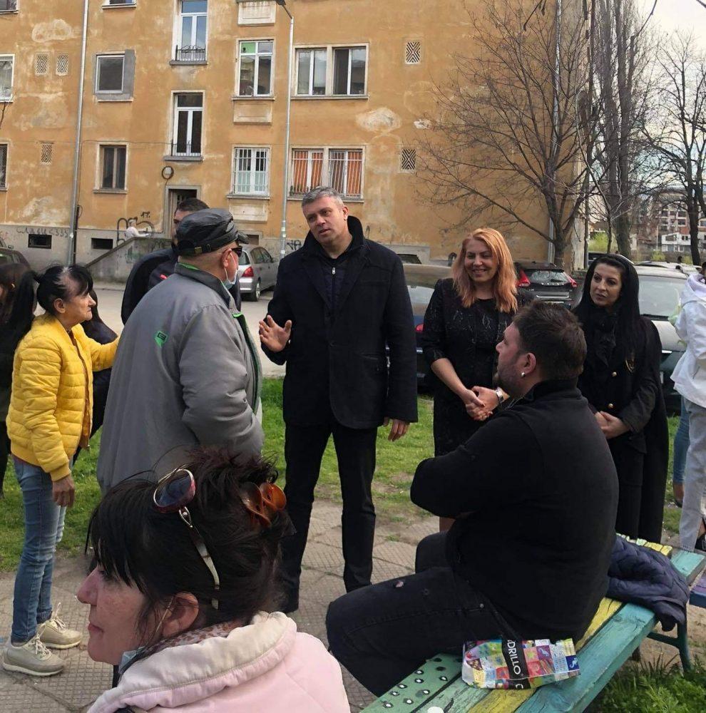 Надя Танева на среща с избиратели