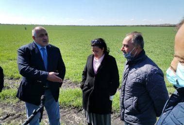 Борисов на среща със земеделци