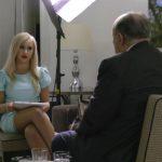 Мария Бакалова и Рудолф Джулиани в Борат2 Кадър: AMAZON PRIME VIDEO
