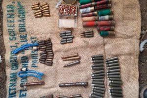 Иззетите боеприпаси